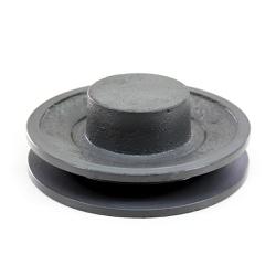 Polia de Ferro Fundido 110mm com 1 Canal B - Mademil - Santec