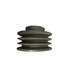 Polia de Ferro Fundido 150mm com 3 Canais B - Mademil - Santec