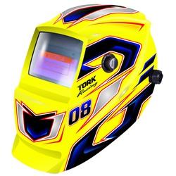 Máscara De Solda Com Escurecimento Automático Racing 08 Amar... - Santec