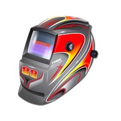 Máscara De Solda Com Escurecimento Automático Racing 88 Cinz... - Santec