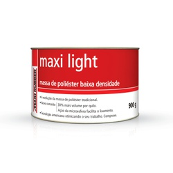 Massa De Poliéster 900gr C/ Catalisador - Santec