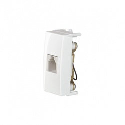 Módulo Telefone Rj-11 Branco Linha Sleek Margirius - Santec