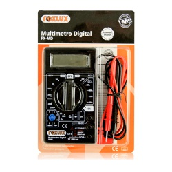 Multímetro Digital Fx-Md 30.01 Foxlux - Santec