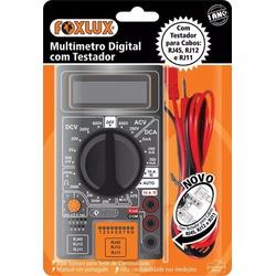 Multímetro Digital Com Teste De Cabos Rj-45 E Rj-11 30.03 Fo... - Santec