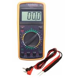 Multímetro Digital Com Capacímetro E Beep 9205A 9Kf Eda - Santec