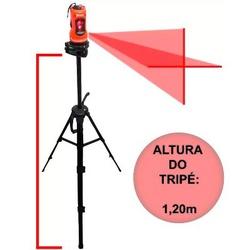 Nível A Laser 10 Metros C/ Autonivelamento C/ Tripé 350339 M... - Santec