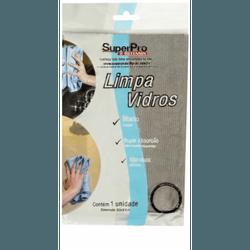 Pano Micro Fibra Limpa Vidros 40 X 60cm Sp9327 Superpro - Santec