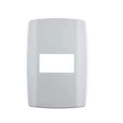 Placa 1 Módulo Horizontal C/ Suporte 4 X 2 Slim 82070 - Santec