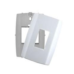 Placa 1 Módulo Vertical C/ Suporte 4 X 2 Slim 82060 - Santec