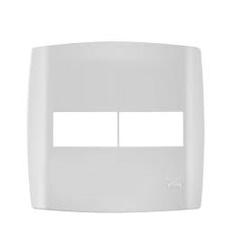 Placa 2 Módulos Separados C/ Suporte 4 X 4 Slim 83060 - Santec