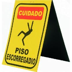 Placa De Sinalização Piso Escorregadio - Santec