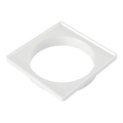 Porta Grelha Branco Para Grelha Quadrada 150mm 27591183 Tigr... - Santec