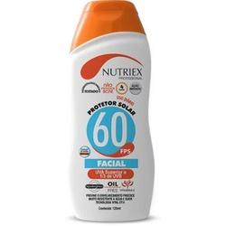 Protetor Solar Facial FPS-60 120ml Nutriex - Santec
