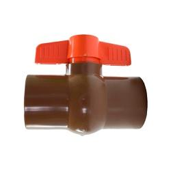 Registro Esfera Plástico Roscável 1.1/2'' Herc - Santec
