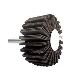 Roda De Lixa 50 X 25mm Gr-36 C/ Haste - Santec