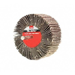 Roda De Lixa 80 X 40mm C/ Haste Grana 80 741549 Mtx - Santec