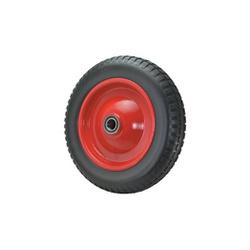 Roda P/ Carrinho Com Pneus Sólido De Poliuretano 3,25 x 8 Re... - Santec