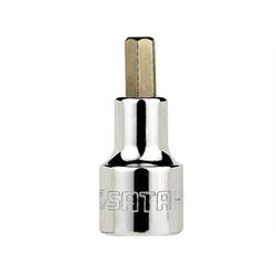 Soquete Allen 10mm Encaixe 1/2'' - Santec