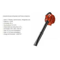 Soprador A Gasolina 26cc S260Tky - Santec