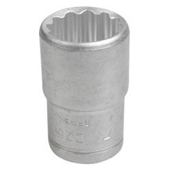 Soquete Estriado Curto 1/2'' X 23mm - Santec