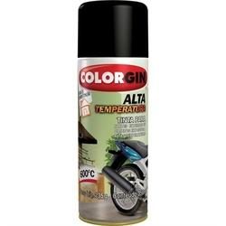 Tinta Spray Alta Temperatura 360ml Preto 5722 Colorgin - Santec
