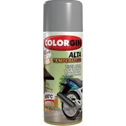 Tinta Spray Alta Temperatura 400ml Aluminio 5723 Colorgin - Santec
