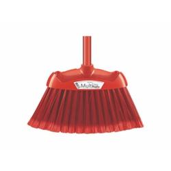 Vassoura Multiuso Vermelha 9674C Superpro - Santec