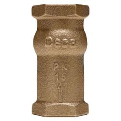 Válvula De Retenção De Bronze Vertical 1'' Deca - Santec