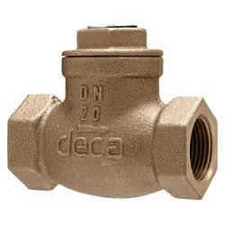 Válvula De Retenção De Bronze Horizontal 3/4'' Deca - Santec