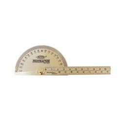 Transferidor De Grau Em Aço Inox 180º 4GP - Santec