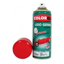 Tinta Spray Vermelho Metálico 400ml 55061 Uso Geral Premium ... - Santec