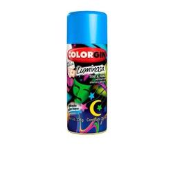Tinta Spray Luminosa 350ml Azul 757 Colorgin - Santec