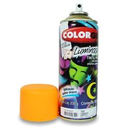 Tinta Spray Luminosa 350ml Laranja 759 Colorgin - Santec