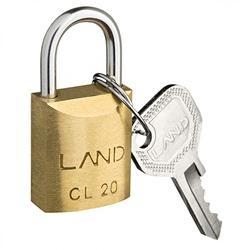 Cadeado de Latão 20mm Land - Santec