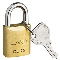 Cadeado de Latão 25mm Land - Santec