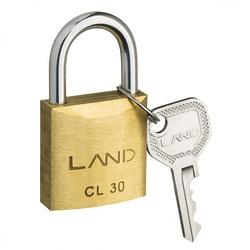 Cadeado de Latão 30mm Land - Santec