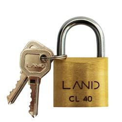 Cadeado de Latão 40mm Land - Santec