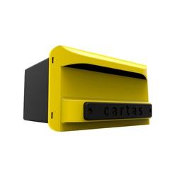 Caixa de Correio In Box Plástica Amarela 3284 Cipla - Santec