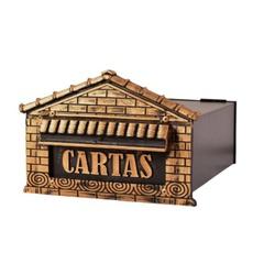 Caixa de Correios Colonial de Embutir COR-07 Fercar - Santec