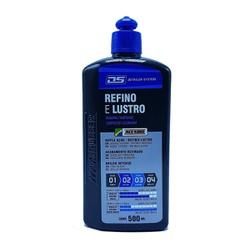 Detailer System Refino e Lustro 500ml maxi Rubber - Santec