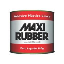 Massa Plástica 800gr Cinza Maxi Rubber - Santec