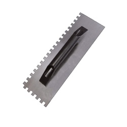Desempenadeira de Aço Dentada 12 x 38cm 60998 Cortag - Santec