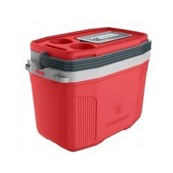 Caixa Térmica 20 Litros Vermelha 57195 Termolar - Santec