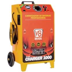 Carregador de Bateria 100A Charger 1000 112561 V-8 Brasil Bi... - Santec