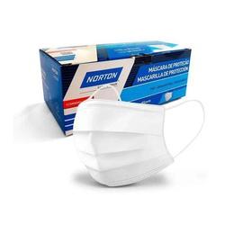 Máscara Descartável TNT Norton - Kit com 10 unidades - Santec