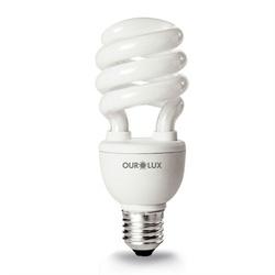 Lampada Espiral 15W Ourolux - Santec