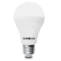 Lampada de Led 9W 3000K 20035 Ourolux - Santec