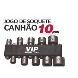 Jogo de Soquetes Canhão 5/32