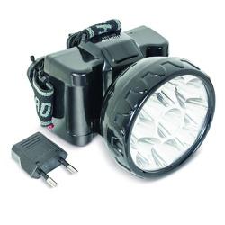 Lanterna Recarregável de Cabeça 9 Leds 3510003 Noll - Santec