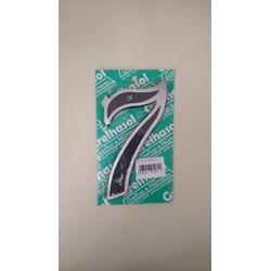 Numero Residencial em Aluminio - Nº7 Grelhasol - Santec